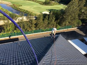 commercial roof painting